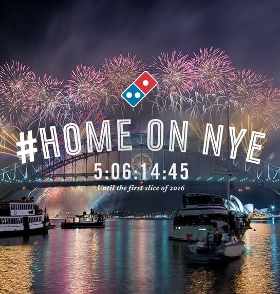Domino\'s: New Year\'s Eve at Home | Black & Red Inc. // Digital ...